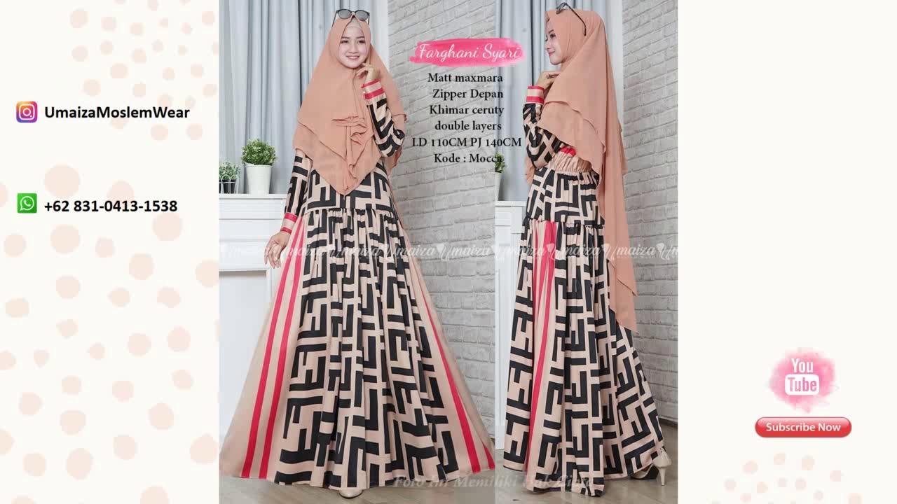 Model Baju Gamis Brokat Lengan Terompet Wa 62 831 0413 1538 Baju Dress Wanita