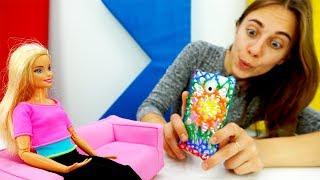 Чехол для телефона Барби своими руками - Видео для девочек