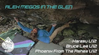 Alex Megos in the Glen - Two V12 FAs