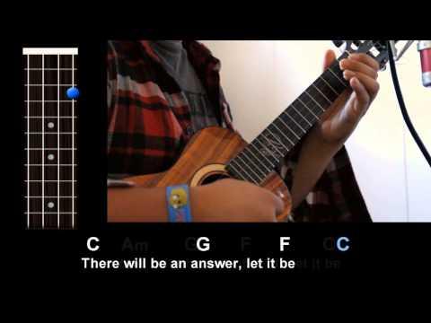 """let-it-be""-(the-beatles)---ukulele-play-along!"