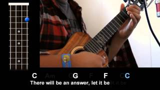 """Let It Be"" (The Beatles) - Ukulele Play-Along!"