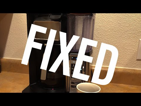 Ninja Coffee Maker *FIX* 5 Beeps of death!