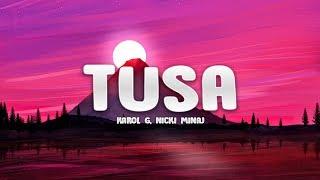 Download KAROL G, Nicki Minaj - Tusa (Lyrics / Letra) Mp3 and Videos