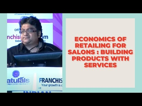 Economics of Retailing for Salons : Building Products with Services