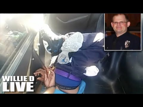 "Black Woman Hogtied Upside Down In Patrol Car Tells White Cop ""Master, I'll Be Good"""