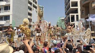 Madness and Chaos at 2018 Tel Aviv Gay Pride in Israel