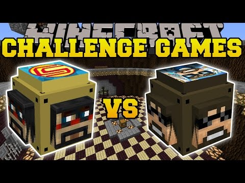 Thumbnail: Minecraft: SSUNDEE VS CAPTAINSPARKLEZ CHALLENGE GAMES - Lucky Block Mod - Modded Mini-Game