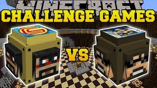 Minecraft: SSUNDEE VS CAPTAINSPARKLEZ CHALLENGE GAMES - Lucky Block Mod - Modded Mini-Game