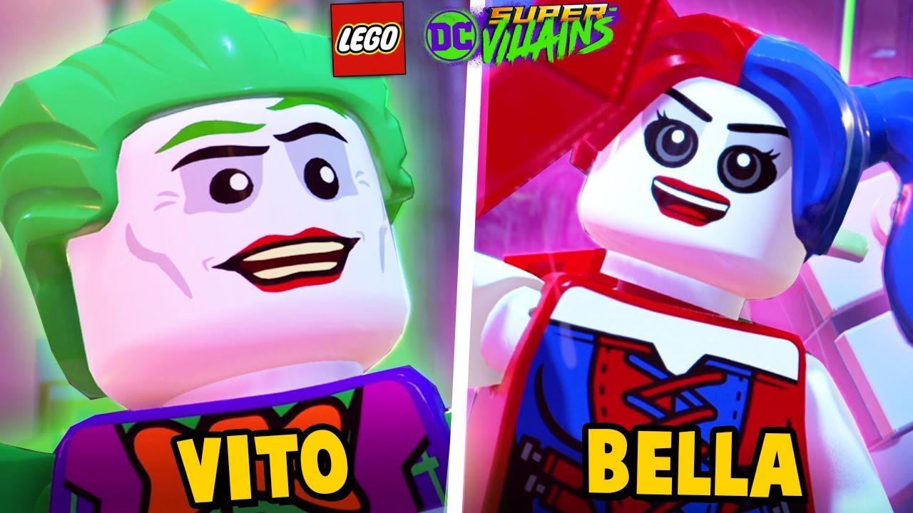 Dołączyliśmy Do Paczki Złoczyńców Lego Dc Super Villains Vito I