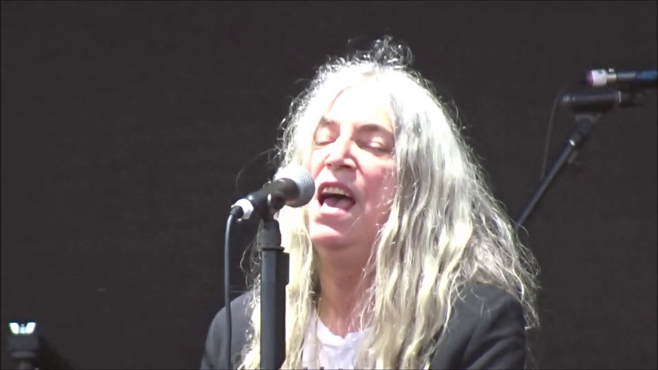 Patti Smith Beds Are Burning Live In Dublin 06 06 2018 Youtube