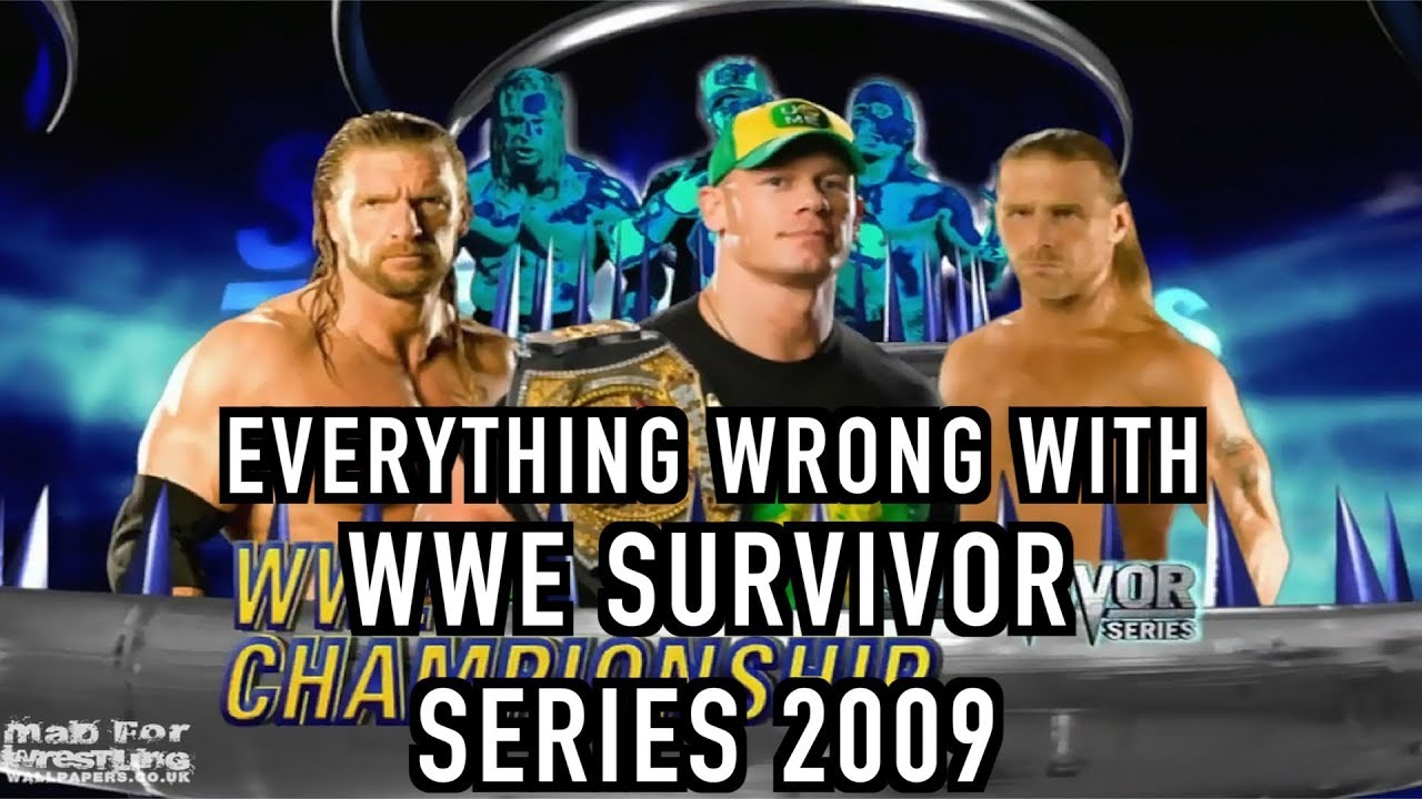 episode 388 everything wrong with wwe survivor series