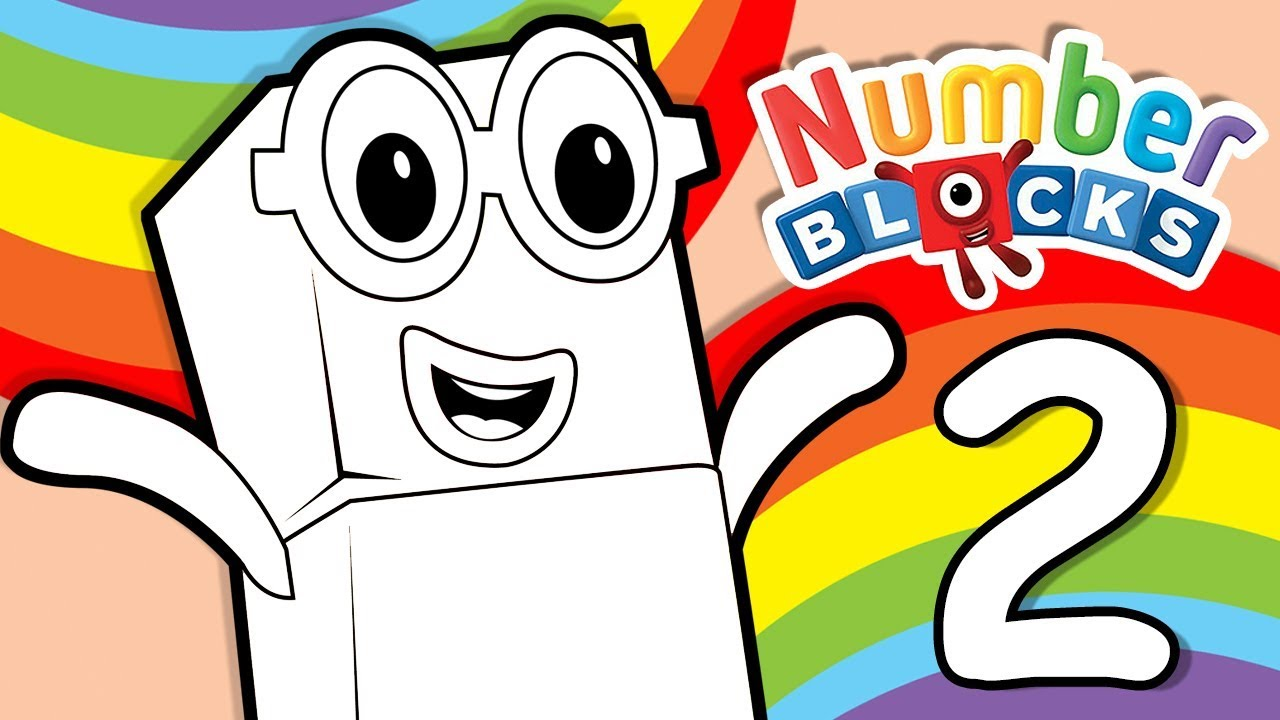 coloring pages counting numbers youtube - photo#42
