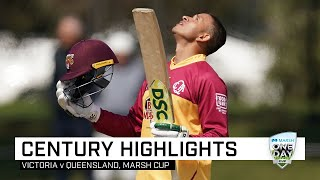 Khawaja makes a statment with first-up century