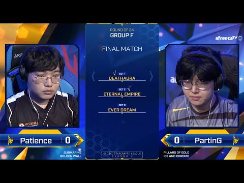 [2020 GSL S3] Ro.24 Group F Match5 PartinG vs Patience