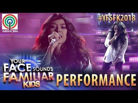 Your Face Sounds Familiar Kids 2018: Sheena Belarmino as Ala