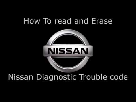 How to read and erase DTC for Nissan Manually