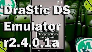 Instalar DraStic DS Emulator r2.4.0.1a FULL!