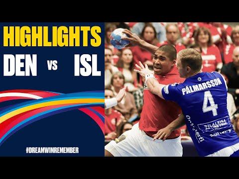 Denmark Vs. Iceland Highlights | Day 3 | Men's EHF EURO 2020