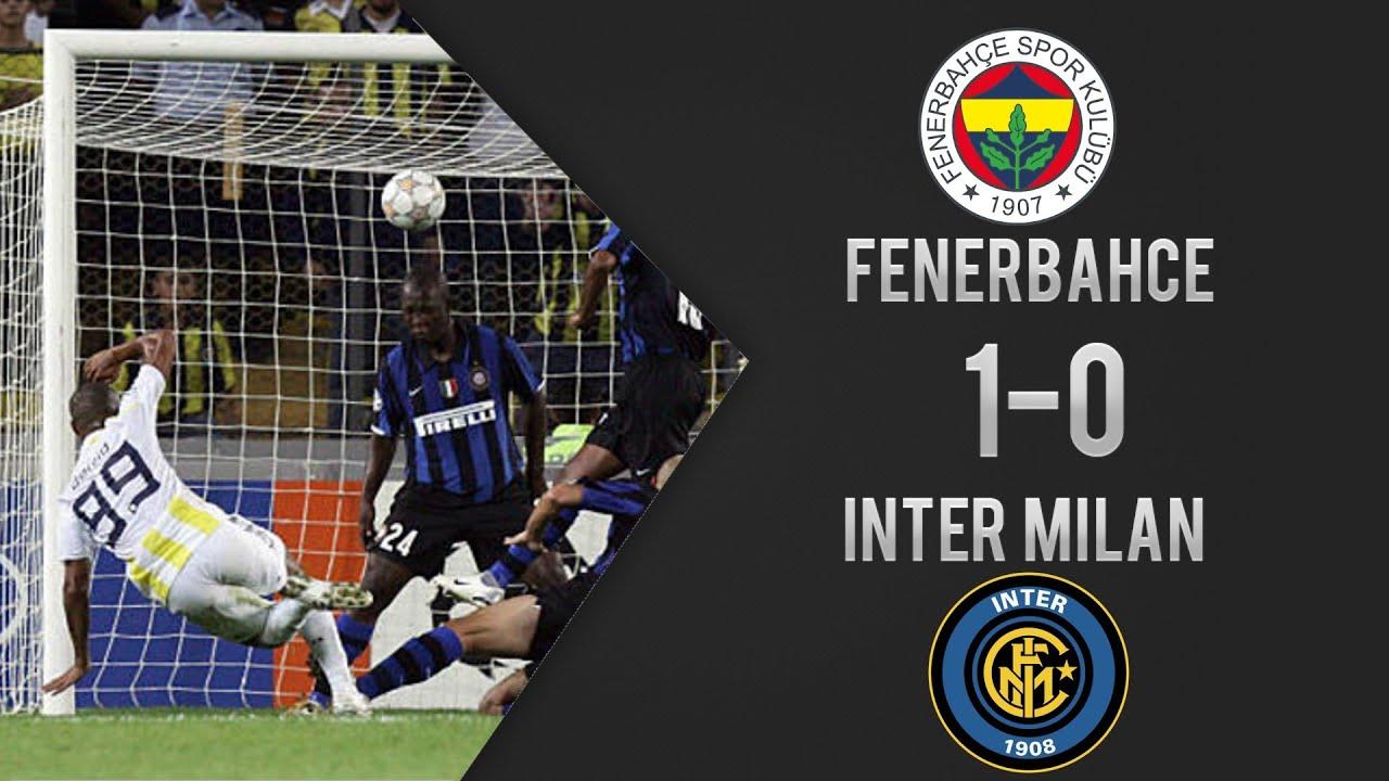 Fenerbahçe 1-0 İnter - Şampiyonlar Ligi Maç Özeti (19/09/2007)