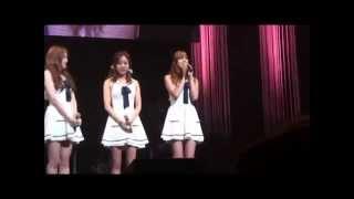 2014.8.4 part1 Apink 1st Japan SHOWCASE開催!