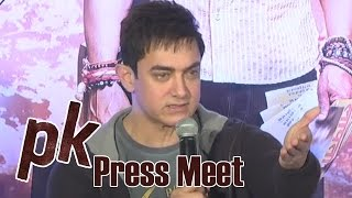 Aamir Khan About Telugu, Tamil Producers - PK Press Meet
