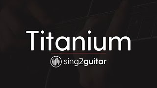 Titanium Acoustic Karaoke Backing Track Sia David Guetta