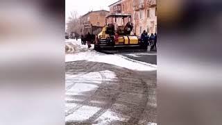 Ремонт дорог в Оренбургской области