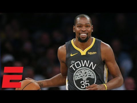 Kevin Durant erupts for 41 points in Warriors' win vs Knicks | NBA Highlights