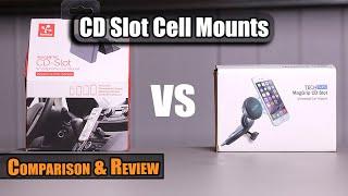 Koomus Pro CD-M vs TechMatte MagGrip Cell Mounts- Review