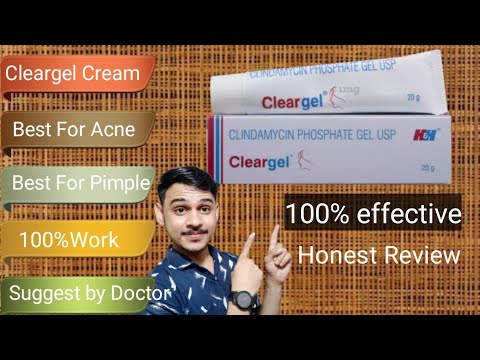 Cleargel For Acne Treatment || Best For Acne, Pimple || Cleargel