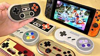 Nintendo Switch RETRO THEMED Wireless Controllers