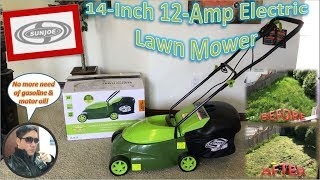Sun Joe 14-Inch 12-Amp Electric Lawn Mower