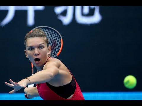 2017 China Open Second Round | Simona Halep vs Magdalena Rybarikova | WTA Highlights