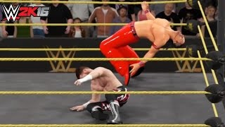 WWE 2K16 Top 10 Moves of Shinsuke Nakamura! (PS4)