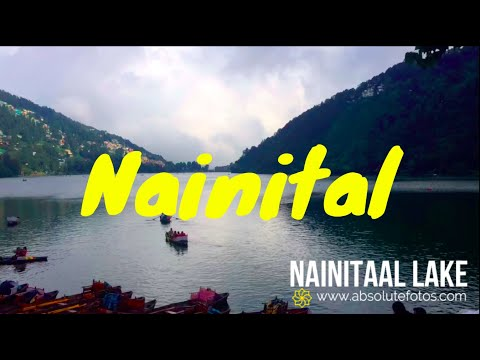 Nainital lake Time Lapse (4K 60fps) | 5.1 Channel Sound | Boating | Cloudy Sky | Hill Station