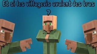 Et si les Villageois avaient des bras ? - Minecraft