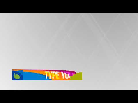 Colorful Stripes Lower Thirds | After Effects template - YouTube