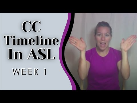 CC Timeline hand motions explained week 1