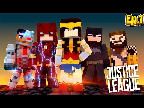Thumbnail: Minecraft JUSTICE LEAGUE - EP.1 - JOINING THE JUSTICE LEAGUE!!