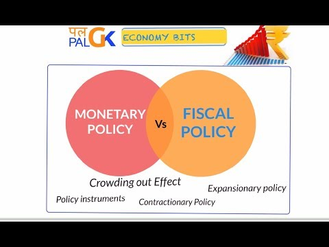 Economy: Monetary Policy Vs Fiscal Policy ; Crowding out effect .