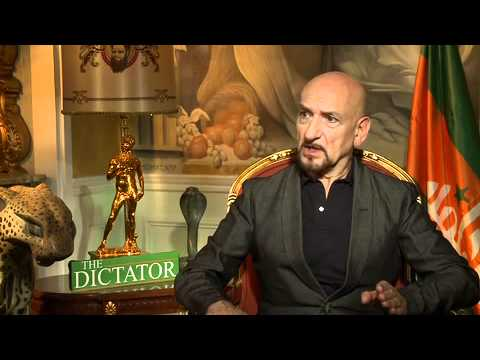 THE DICTATOR interviews: Sir Ben Kingsley