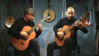Romance de Amor for 2 guitars 爱的浪漫诗 吉他二重奏