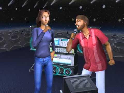 Sims 2 StrangeTown Monty: Siblings Karaoke (Simlish Subtitles)