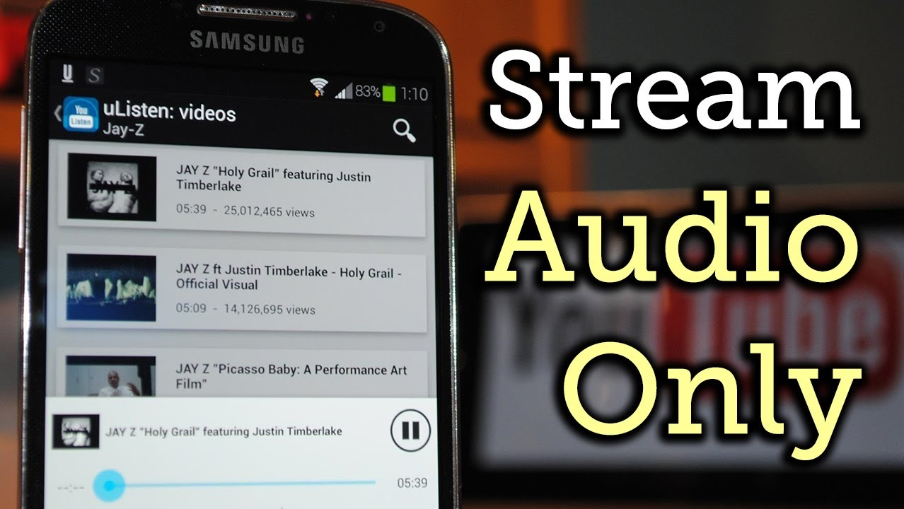 Stream youtube audio only in the background on your samsung galaxy stream youtube audio only in the background on your samsung galaxy s4 how to voltagebd Gallery