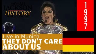 They Don´t Care About Us - Live In Munich 1997 History Tour (HWT) - Michael Jackson