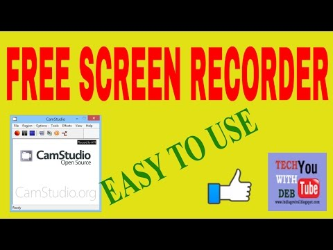 Best Screen Recording / Capturing Software for YouTube(Free)