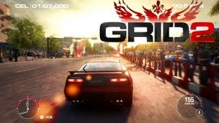 GRID 2 Gameplay PC - Challenge: Nissan Fairlady Z Version S TT 2SEATER