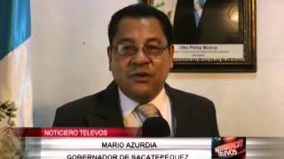 SACATEPÉQUEZ CUENTA  CON NUEVO GOBERNADOR  DEPARTAMENTAL.
