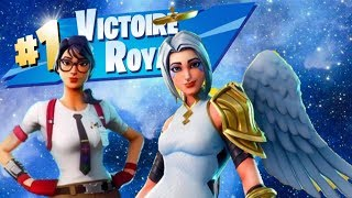 WINNING WITH NEW SKINS🏆 🥇 -ARCANGEL AND EXPERTA- FORTNITE-ANDRES085YT