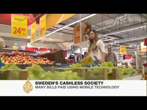 Sweden aims to be cashless society